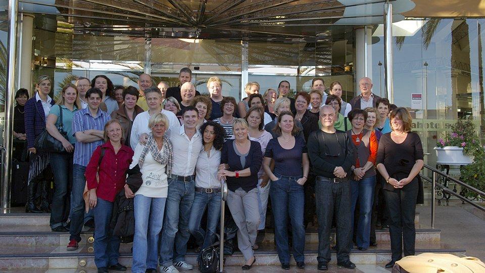 Teilnehmer der Winterakademie 2009