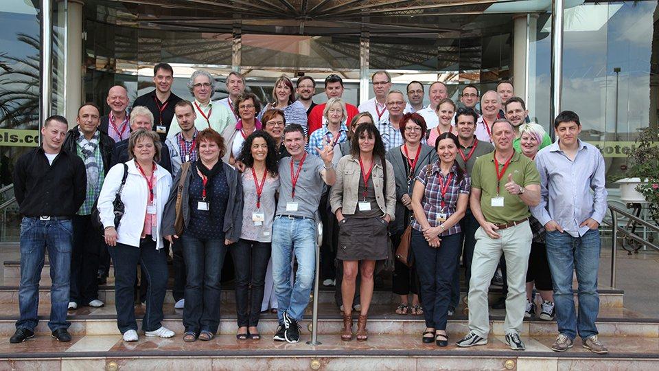 Teilnehmer der Winterakademie 2012