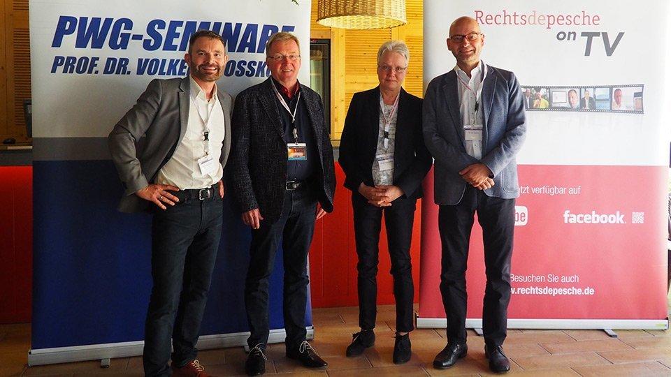 Volker Großkopf, Andreas Westerfellhaus, Gertrud Hundenborn, Jan Basche